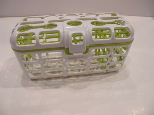 Munchkin Deluxe Dishwasher Basket Straw Cleaning Rack NEW SHIPS FREE