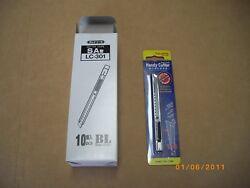 10 pack Box Cutter Tajima LC-302 Stainless Steel Snap Craft Utility Knife Japan