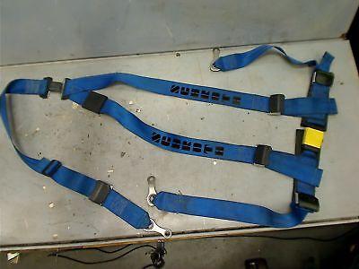 gelb rechts Schroth 10510 Statik Hosenträgergurt Rallye 3 ASM Gurt schwarz