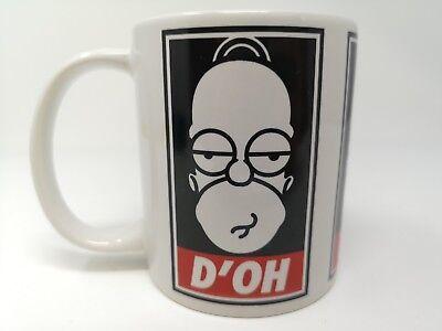 Homer Simpson Dad Doh Coffee Mug Cup