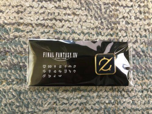 SQUARE ENIX Final Fantasy XIV Job Pin Badge Gunbreaker NEW from JAPAN RARE