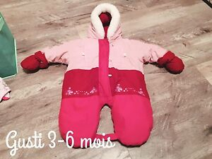 3-6 month baby girl winter coat