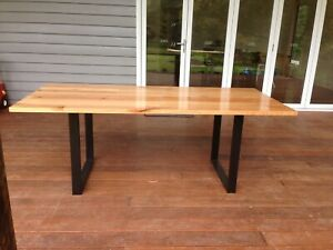 Hardwood dinning table