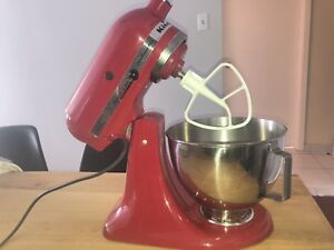 Red Kitchen Aid Ultra Power Plus Mixer