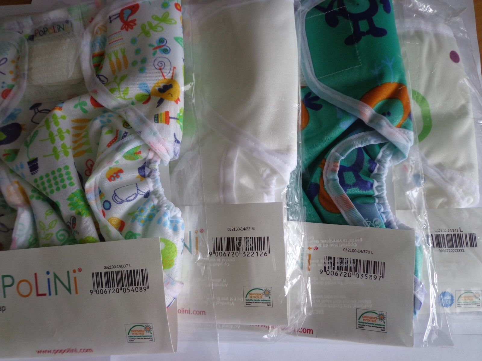 Popowrap Gr.S 3-6 Kg Baby Überhose für Stoffwindeln Windelüberhose Popolini Neu