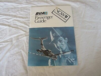 Old BUA Passenger Guide