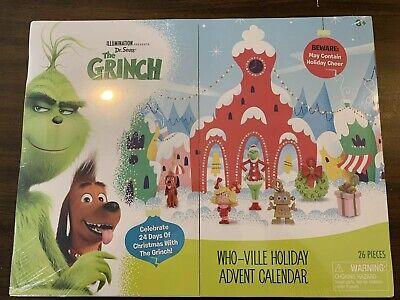 Illumination Dr. Seuss' The Grinch Who-Ville Christmas Holiday Advent Calendar