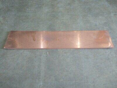 Copper Sheet 14 X 4 58 X 22 38