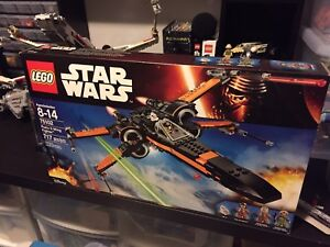 Lego Star Wars Poe's X-Wing Fighter set 75102