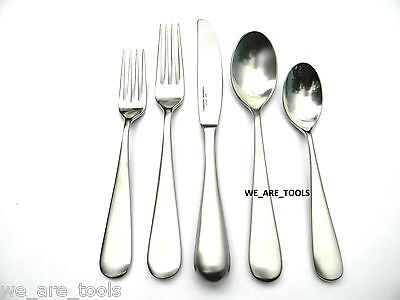 Yamazaki New In Box Median 5 Piece Place Setting Stainless Fork  Spoon Fast Ship
