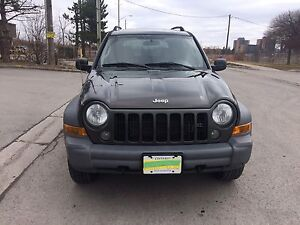 JEEP LIBERTY 2005 + SAFETY AND EMISSIONS