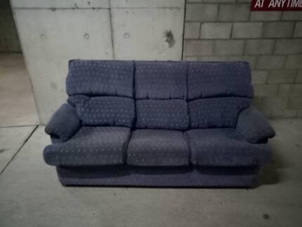 sofa - blue couch  Sofas  Gumtree Australia Inner Sydney