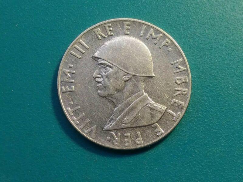 1939 Albania Italian Occupation 2 Lek