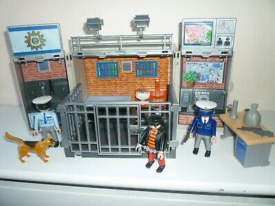 Playmobil Police Take Along Safe with Jail and Police Dog