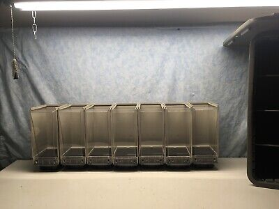 7 New Vendstar 3000 Grey Canisters
