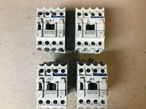 Automation Direct GH15BN Contactor; 2 Singles, 1 Reversing; 120 Volt Coils