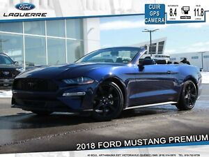 2018 Ford Mustang PREMIUM**CUIR*GPS*CAMERA*APPLE CARPLAY**