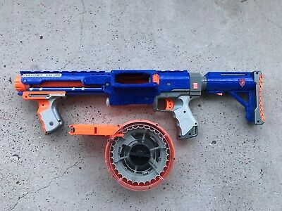 NERF N-Strike Elite Raider Rapid Fire CS-35 Blaster Dart Gun w/ Ammo Drum