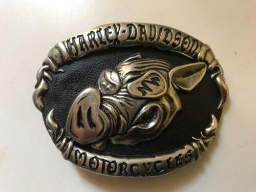 Harley-Davidson men's rare HOG belt buckle.#97621-07V.Antique nickel plaited .