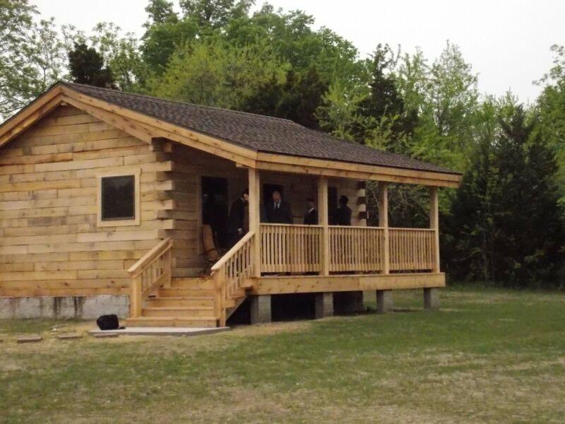 DIY Oak Cabin beginners kit from scratch