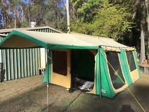 Canvas cabin tent 6 person
