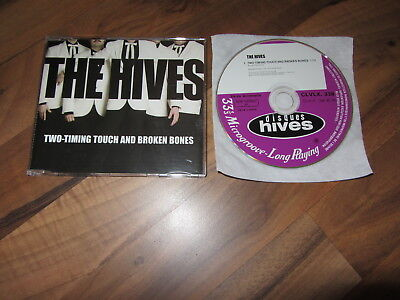 THE HIVES Two Timing Touch And Broken Bones 2004 EUROPEAN promo CD (The Hives Two Timing Touch And Broken Bones)