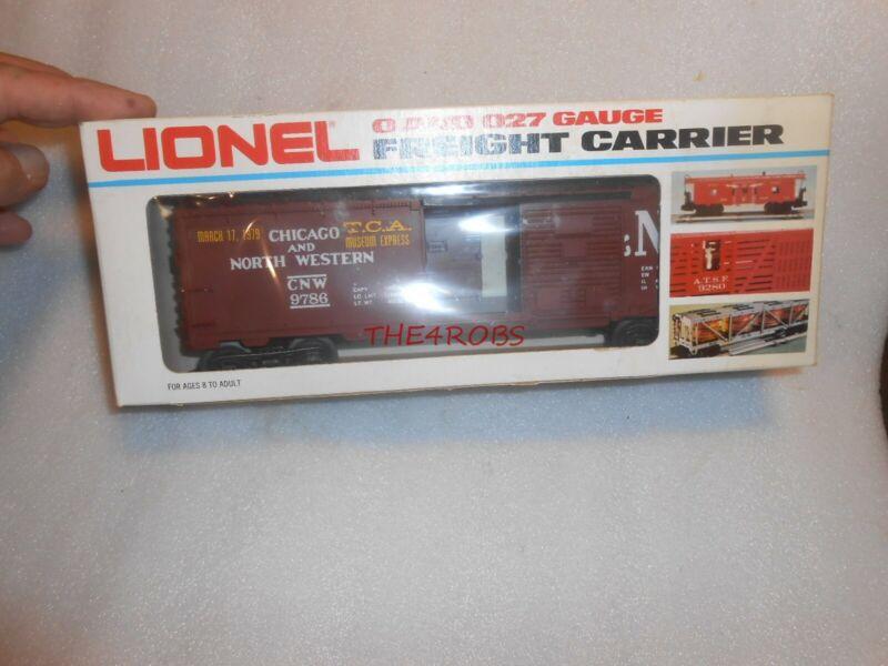 Unused Lionel Chicago & North Western TCA Box Car in Box 0 Gauge 6-9786