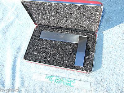 Starrett 55 Square Beveled Edge 4-12 Vintage Toolmaker Machinist Other Squares