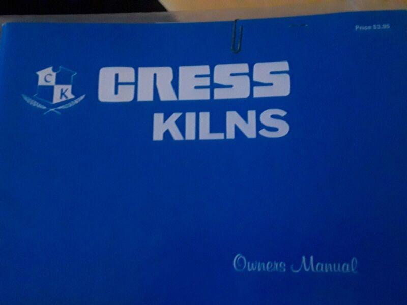 Cress  KILN Operating Manual B-911