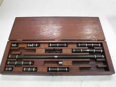 Lufkin Inside Bore Micrometer Set. 1 To 15 Used Cheap M2