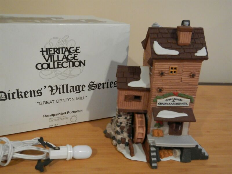 Dept 56 Dickens Village - Great Denton Mill