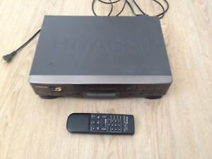 Hitachi vcr /vhs with remote