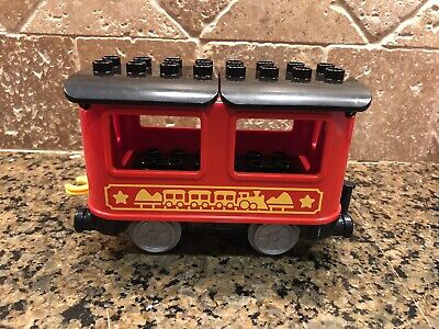 New Lego Duplo 10874 Push & Go Steam Train Passenger Coach Car Only- 100% Fedbk!