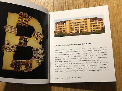 Brochure - BULGARI - L'Art Dell'Orologeria - Italian & English - 3 11/16x3 1/8in