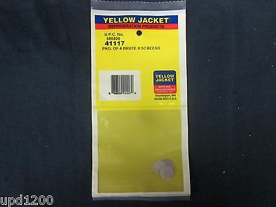 Yellow Jacket Pkg. Of 4 Brute Ii Screens - 41117