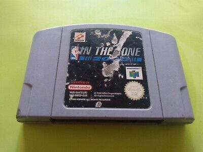 NBA In the Zone 2000   N64 Nintendo 64   Genuine cart   PAL Konami
