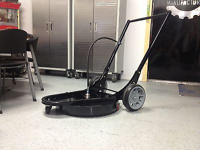 Rotary Surface Cleaner 24in 5000psi Hot Or Cold Mosmatic Swivel