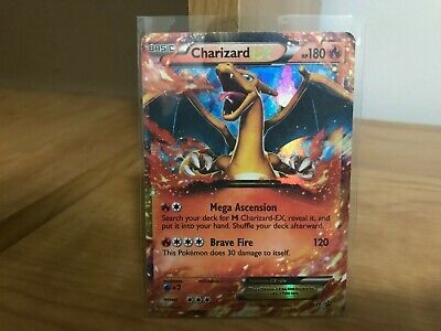 Pokemon Card Charizard EX Black Star Promo XY17 in Good Condition!