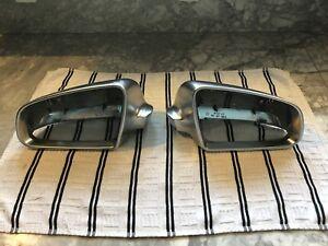 Audi S4 Aluminum Mirror Caps
