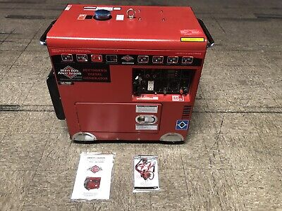 Heavy Duty Power Systems Hdi7000rwb Deisel Generator 12 Hp