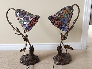 2 Tiffany Table Lamps