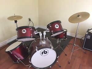 5 piece RB kids drum set