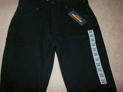 - Old Navy Men's Built In Flex 5 pocket brushed twill Pants 36x32 NWT New Black /