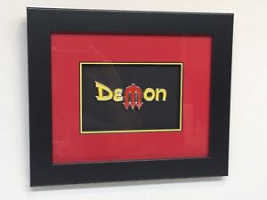 Dodge Demon Emblem- Framed