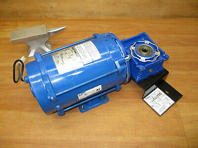 Bluffton 1121007441 Electric Motor 12 Hp 5964 Gear Reducer 251 Explosion Proof