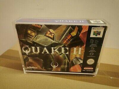 N 64 Quake 2 Nintendo 64 Spiel OVP und Anleitung PAL inkl. Acrlyhülle N64