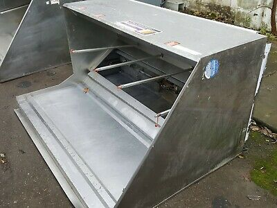 69 Used Hood Grease Type L Commercial Restaurant Kitchen Exhaust Box Style 7