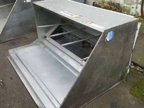 "69"" USED HOOD Grease Type l Commercial Restaurant KITCHEN EXHAUST Box Style 7"