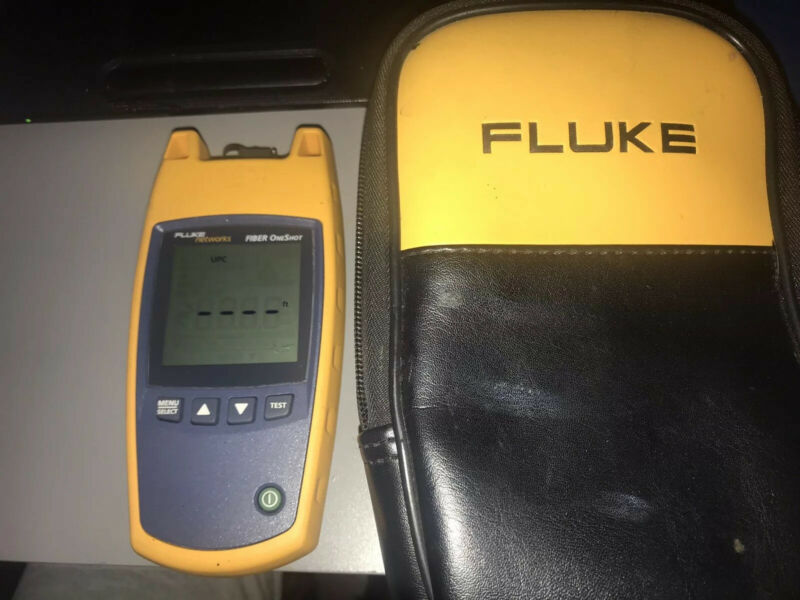 Fluke Networks Fiber Oneshit Fiber Optic Tester