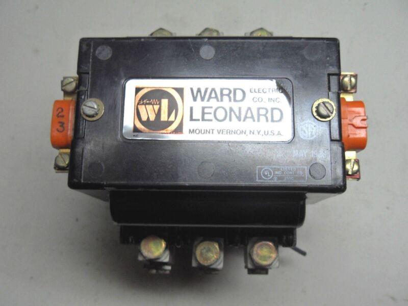 (Q9-5) 1 WARD LEONARD 5003A3001-11 CONTACTOR